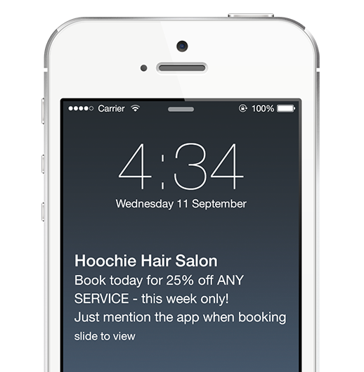 salon mobile app