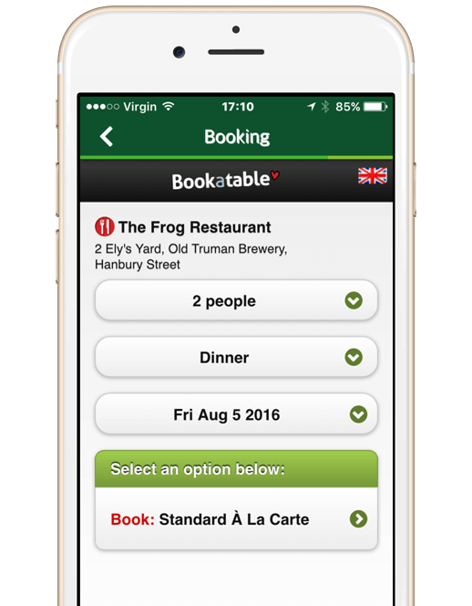 Restaurant Mobile Apps