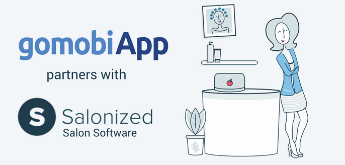 gomobiApp partners with Salonized salon software.